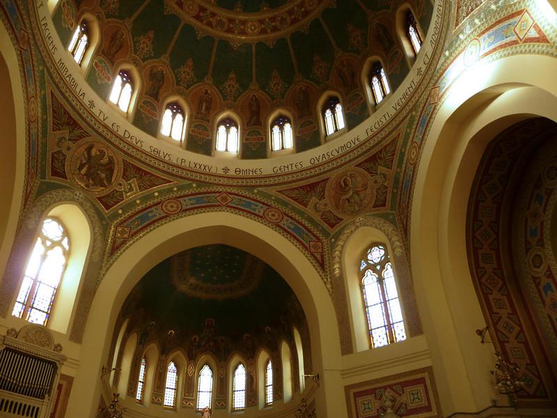 Interior da Igreja de São Manuel e São Benito