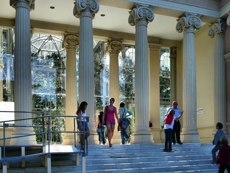 Palácio de Cristal, Parque de El Retiro