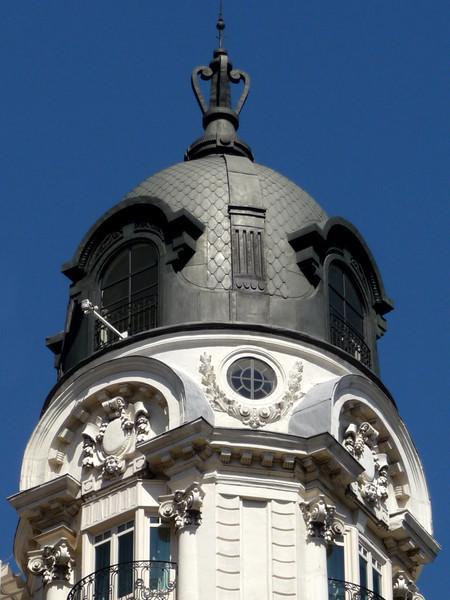 Detalhe Arquitetônico em Madri
