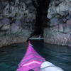 March 6: Paddling the caves on the eastern shore.