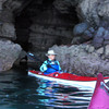 March 6: Barb's utopia - paddling the caves on the eastern shore.