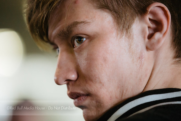 """William """"Leffen"""" Hjelte seen at Get On My Level in Toronto, Ontario on May 21, 2016."""