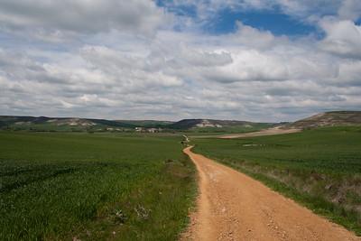 la via francigena in Spagna