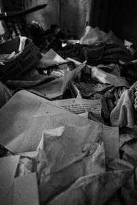 Padiglione Livi - corrispondenza abbandonata senza mai essere stata consegnata.