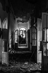 padiglione Maragliano - corridoio piano terra