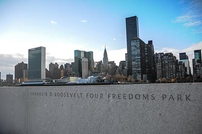 FDR Four Freedoms Park