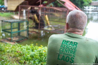 Free the Bears had wanted to help the 'Laos Lake Bears' for a long time, but it was only due to continued work with the government, law enforcement, and the owners that they were able to rescue them.