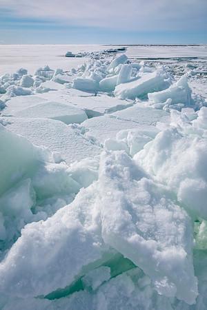 Sea Ice Breaking Slowly