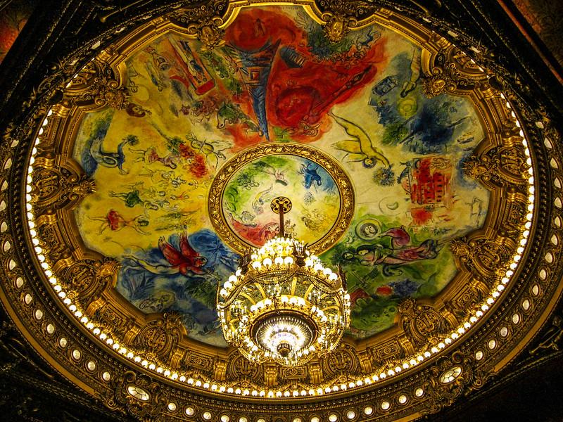Chagall - Palais Garnier, Paris, France (2014)