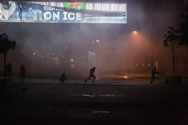 Shia Supporters Clash With Police in Downtown Beirut
