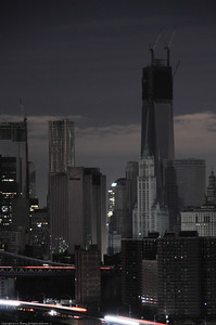 View of World Trade Center 1 from Williamsburg