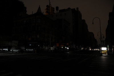 The silent major intersection of 6th Avenue and 14th Street.