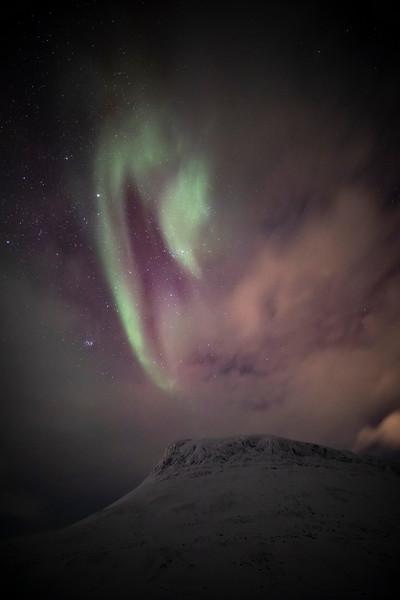 Northern Lights over Saana