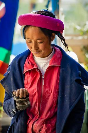 Tibetan Woman in China (2011)