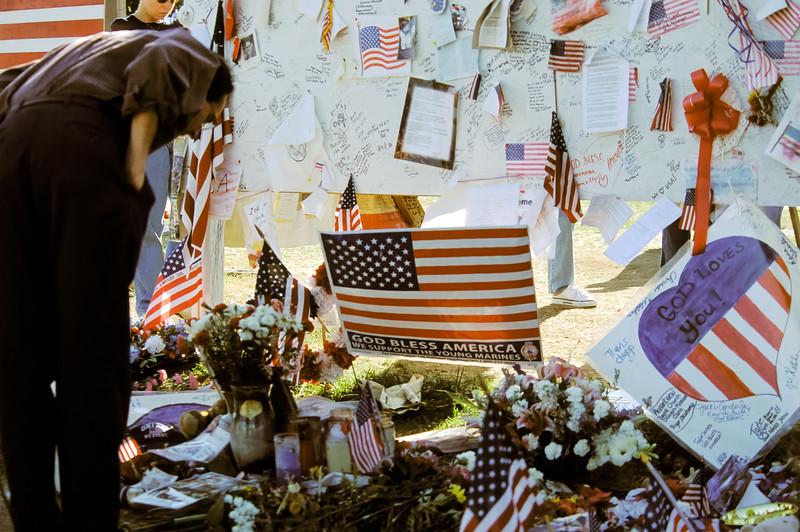 Near the Pentagon After September 11, 2001 Attack