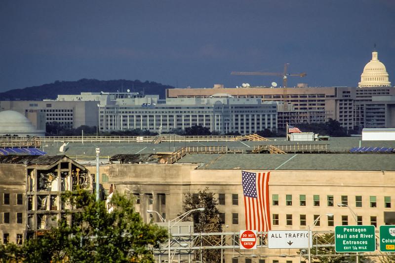 Pentagon After 9/11/01 Attack
