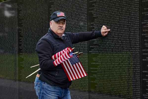 Vietnam Veterans Memorial, May 30, 2021 (Memorial Day Weekend)