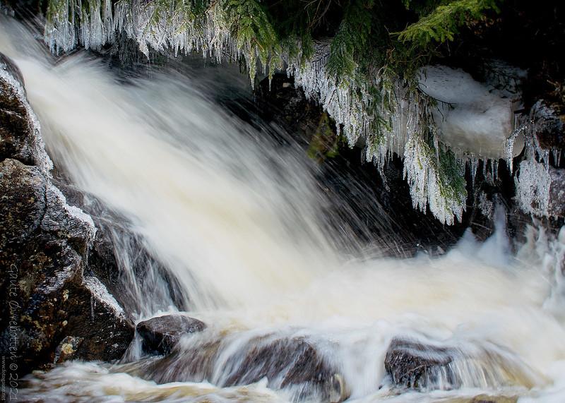 Vårvinter i elva