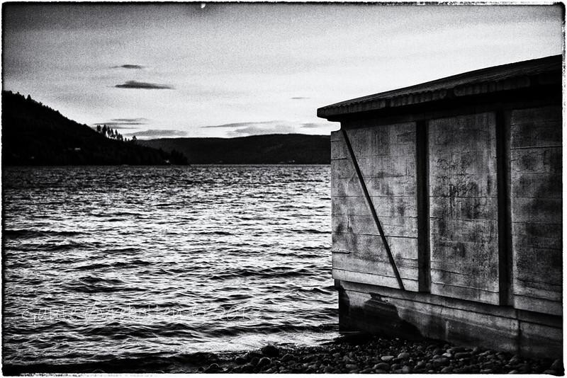 "Boathouse - sculpture by Rachel Whiteread (see <a href=""http://skulpturstopp.no/en/gran"">http://skulpturstopp.no/en/gran</a>)"