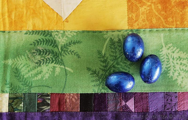 Påskeegg. Easter eggs.