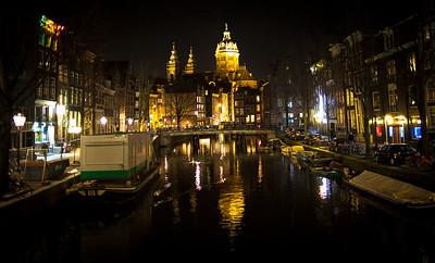 St Nicholas Church On The Canal, Amsterdam
