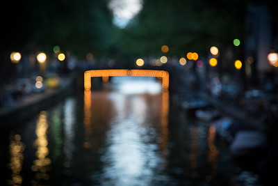 Canal Lights, Amsterdam