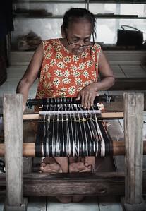 Balinese Weaving