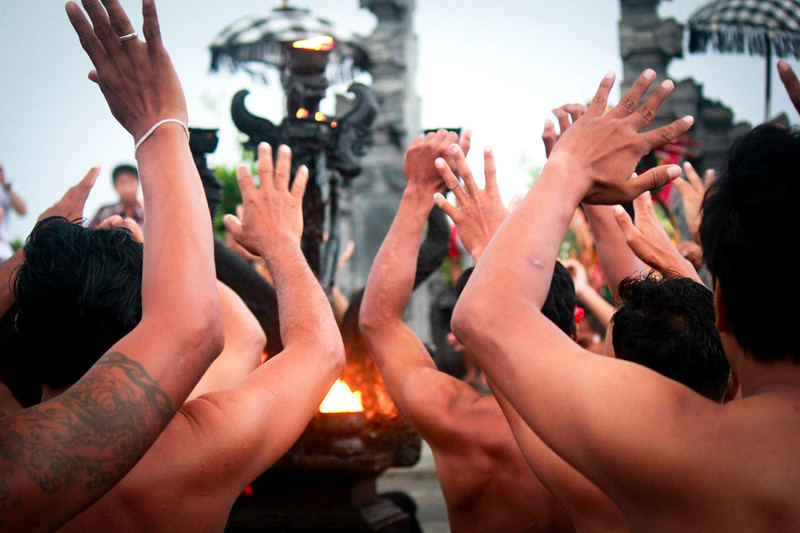 Kecak Hands, Bali
