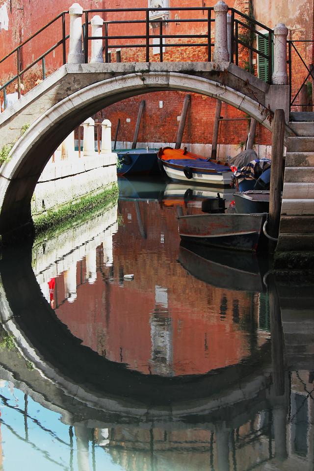 Venice Canal Bridge