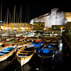 Nesting Boats At Castel Dell Ovo, Naples