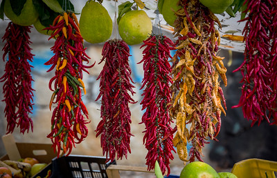 Colour Of Chillies