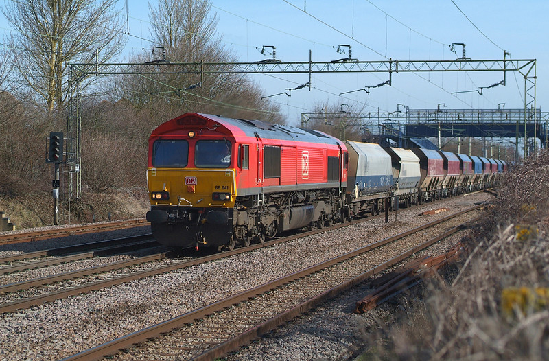 66041 Witham 14.3.2018 09.55hrs. 6O79 09.40 Marks Tey Tarmac-Crawley New Yard RMC
