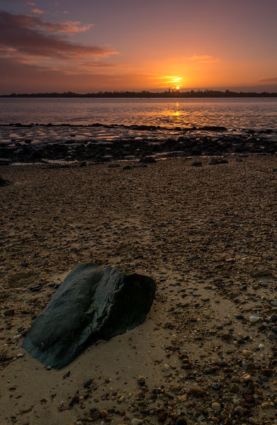 Brightlingsea Coast Sunset