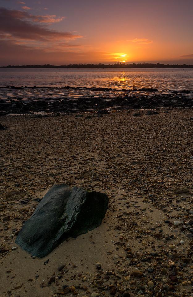 Brightlingsea Coast Sunset