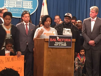 Essie Leaders Introduce Bail Reform at the Capitol