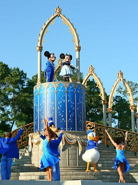 Atração no Parque Magic Kingdom