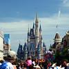 Vista do Parque Magic Kingdom