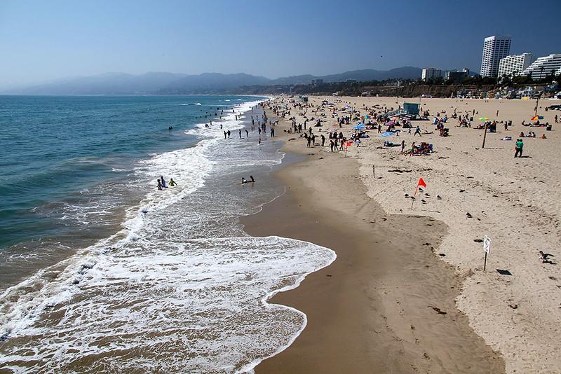 Praia de Santa Mônica