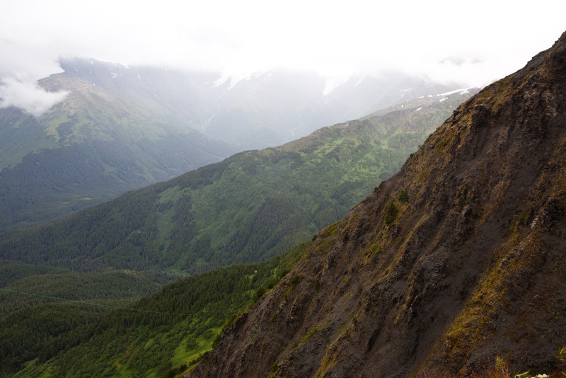Hike in Alyeska, Alaska, Alyeska, turnagain arm