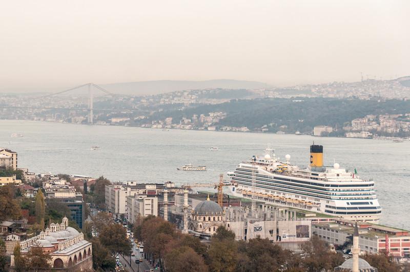 Puente en Estambul