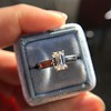 1.00ct Emerald Cut Diamond Solitaire, Platinum 16