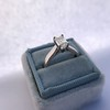 1.00ct Emerald Cut Diamond Solitaire, Platinum 15