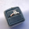 1.00ct Emerald Cut Diamond Solitaire, Platinum 6