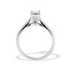 1.00ct Emerald Cut Diamond Solitaire, Platinum 3