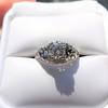 1.00ct Round Brilliant Diamond Filigree Solitaire 6
