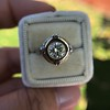 1.02ct Round Brilliant Diamond Bezel Ring 15