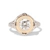 1.02ct Round Brilliant Diamond Bezel Ring 0