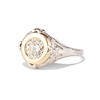 1.02ct Round Brilliant Diamond Bezel Ring 1