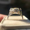 1.02ct Round Brilliant Diamond Bezel Ring 13