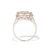 1.02ct Round Brilliant Diamond Bezel Ring 3